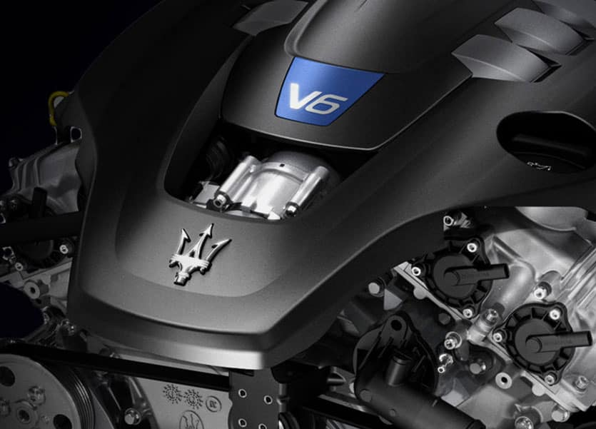 Maserati Levante S Engine