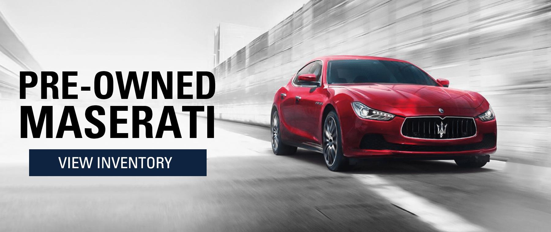 Used Maserati for sale
