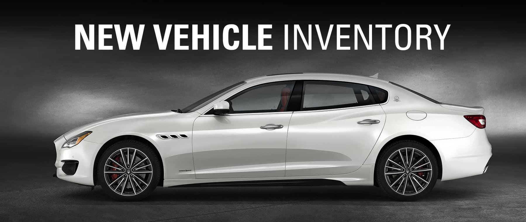 New Maserati for sale