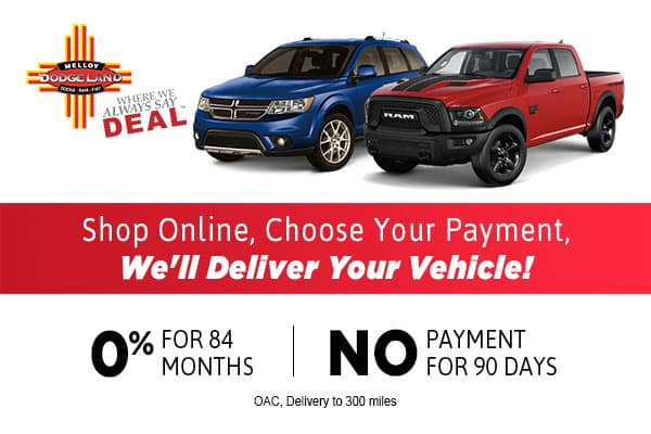 No Payments For 90 Days Near Andrews TX