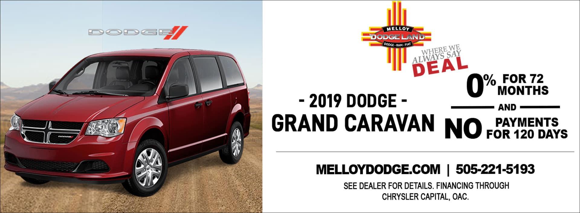 image showing grand caravan promo