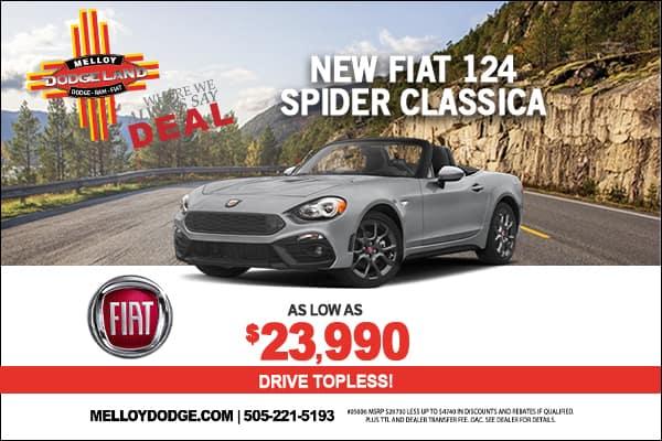 SPECIAL New FIAT 124 Spider Classica
