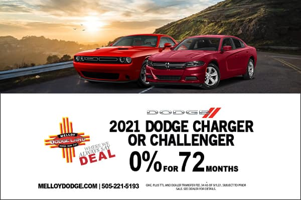 SPECIAL New 2021 Dodge Challenger & Charger