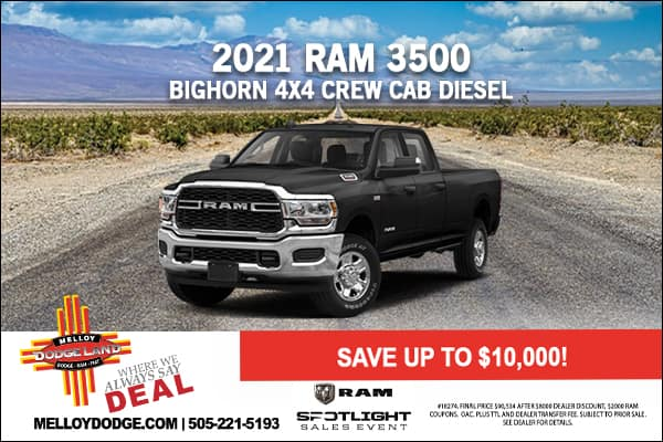 SPECIAL New 2021 Ram 3500