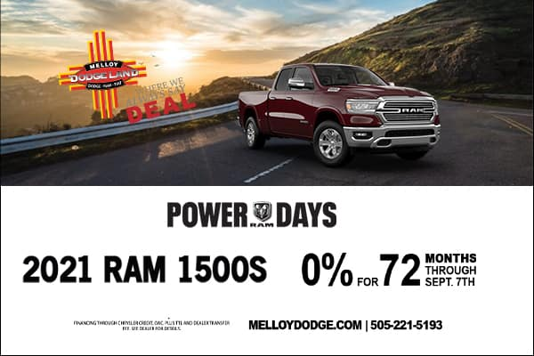 SPECIAL New 2021 Ram 1500