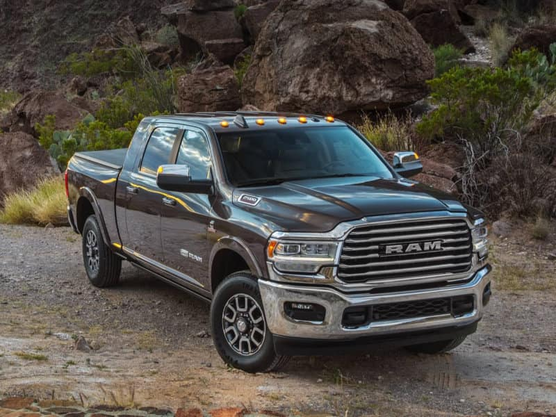 Melloy Ram - The 2021 Ram 2500 offers a full-size cabin serving Andrews TX
