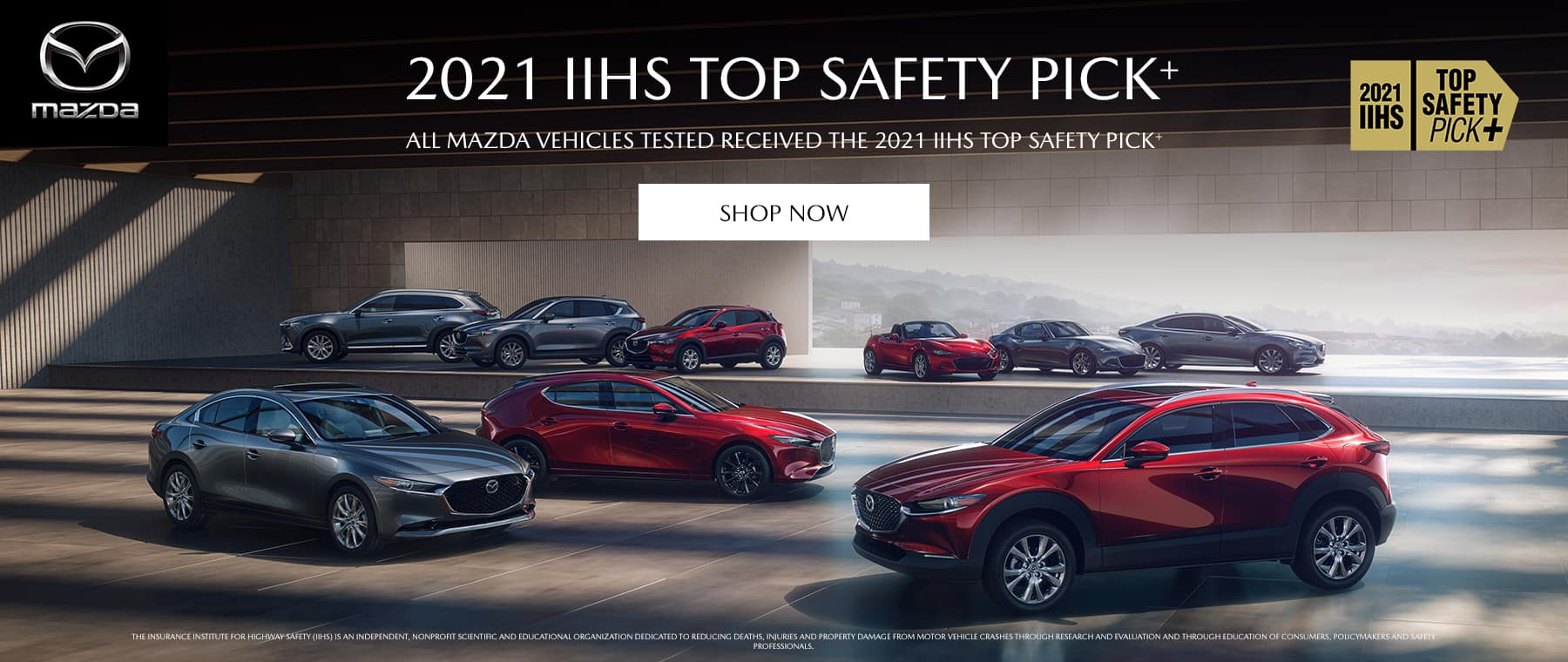 2021 IIHS Top Safety Pick