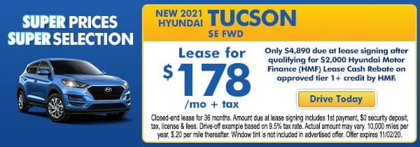 2021 Hyundai Tucson SE FWD