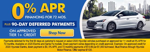 0% APR Financing for 72 Months*