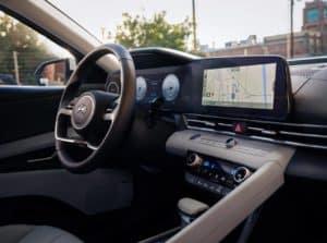 Hyundai Elantra Interior Technology