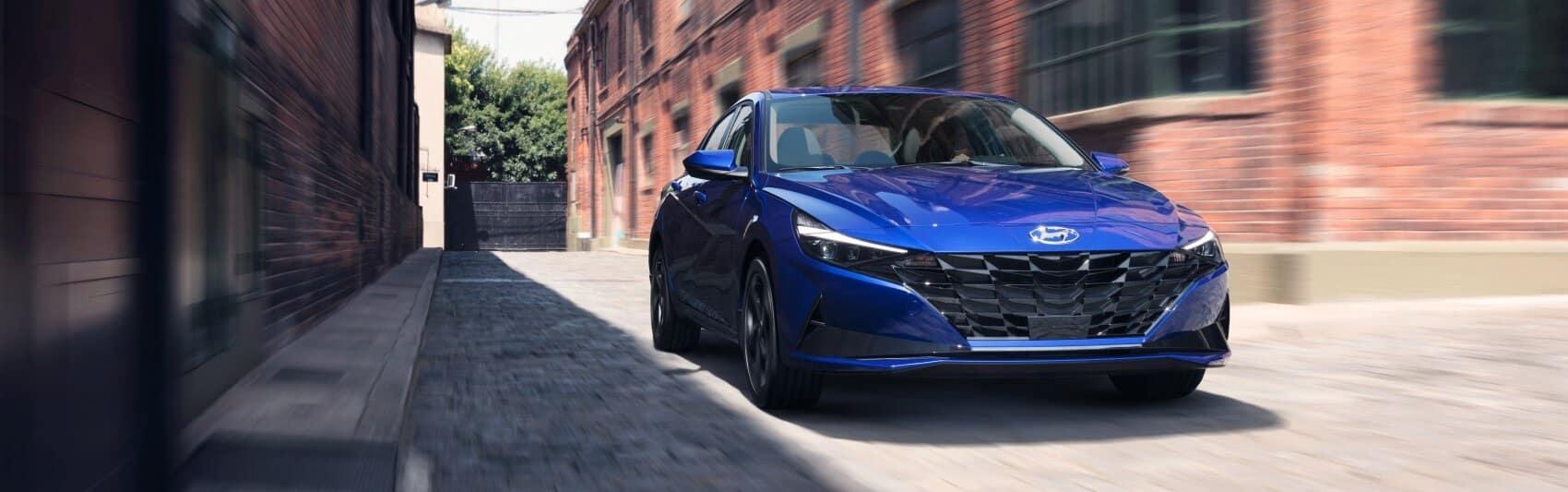 Hyundai Elantra Performance Intense Blue