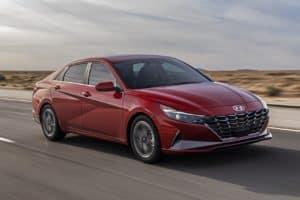 Hyundai Elantra Calypso Red