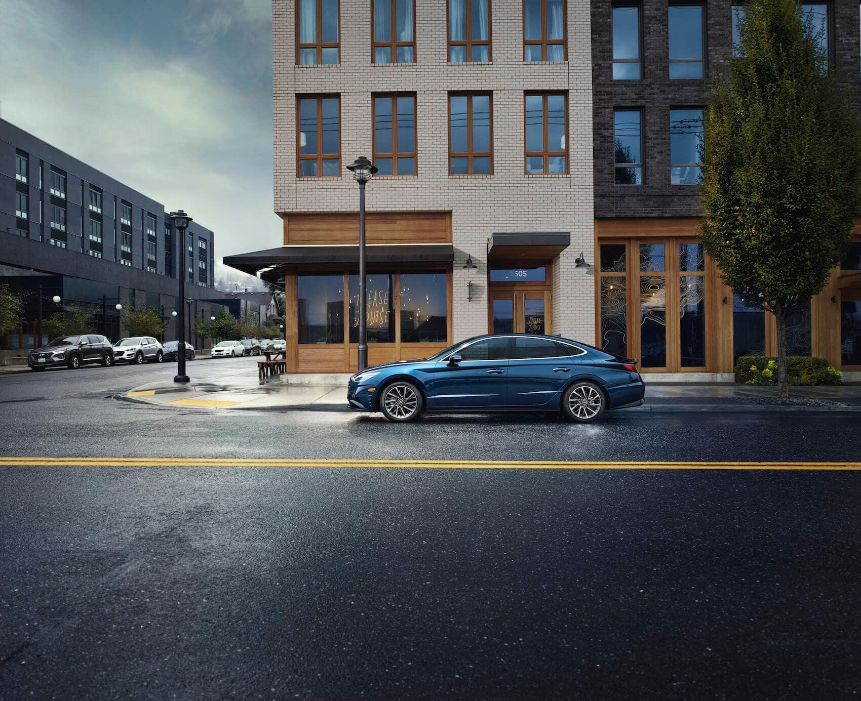 2021 Hyundai Sonata: Performance and Fuel Economy