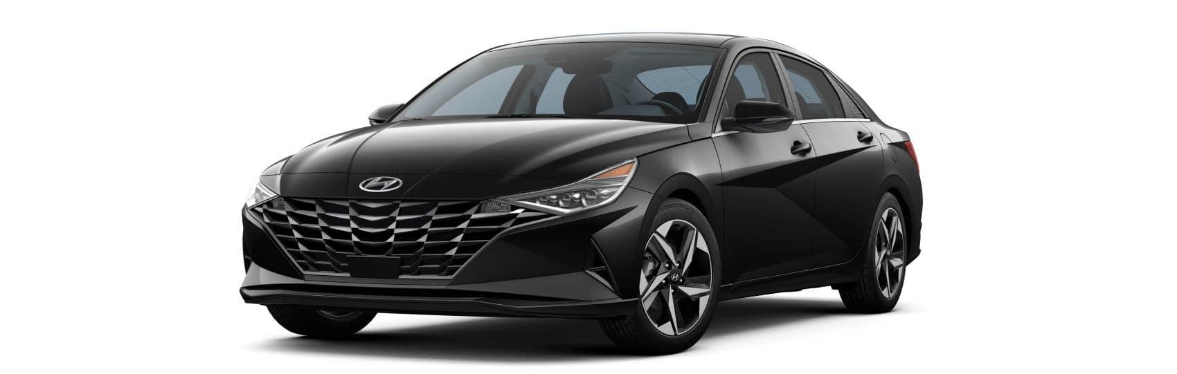 2021 Hyundai Elantra LTD Black Noir