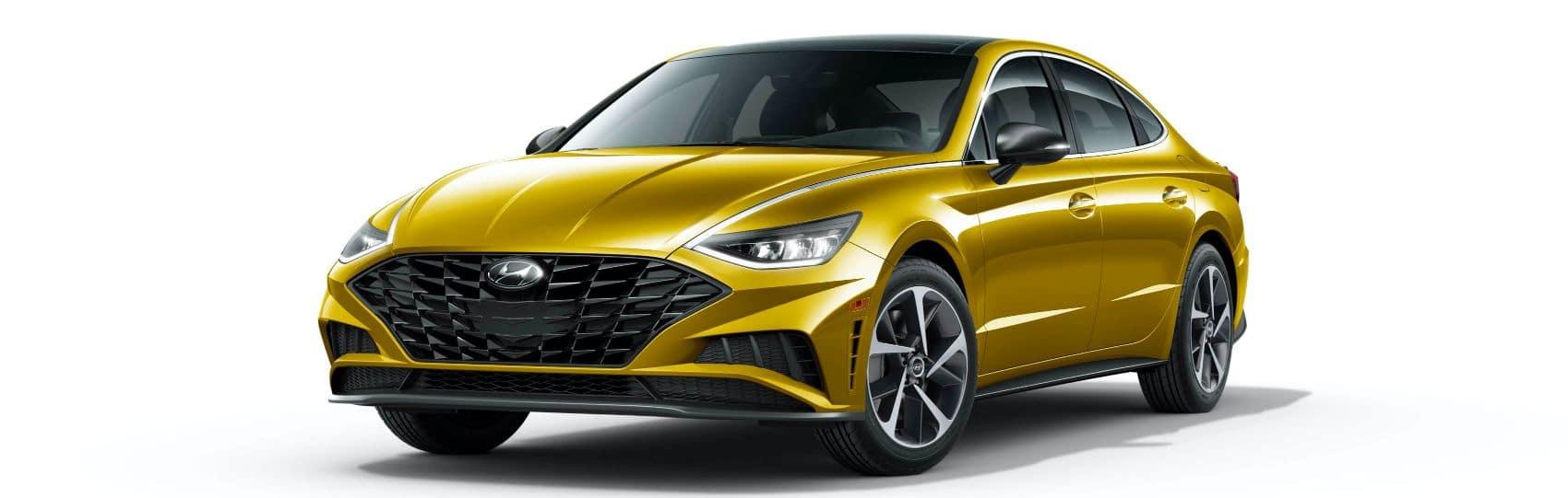 2021 Hyundai Sonata SEL Glowing Yellow