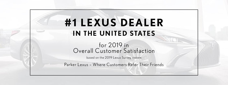#1 Lexus Dealer Customer Satisfaction