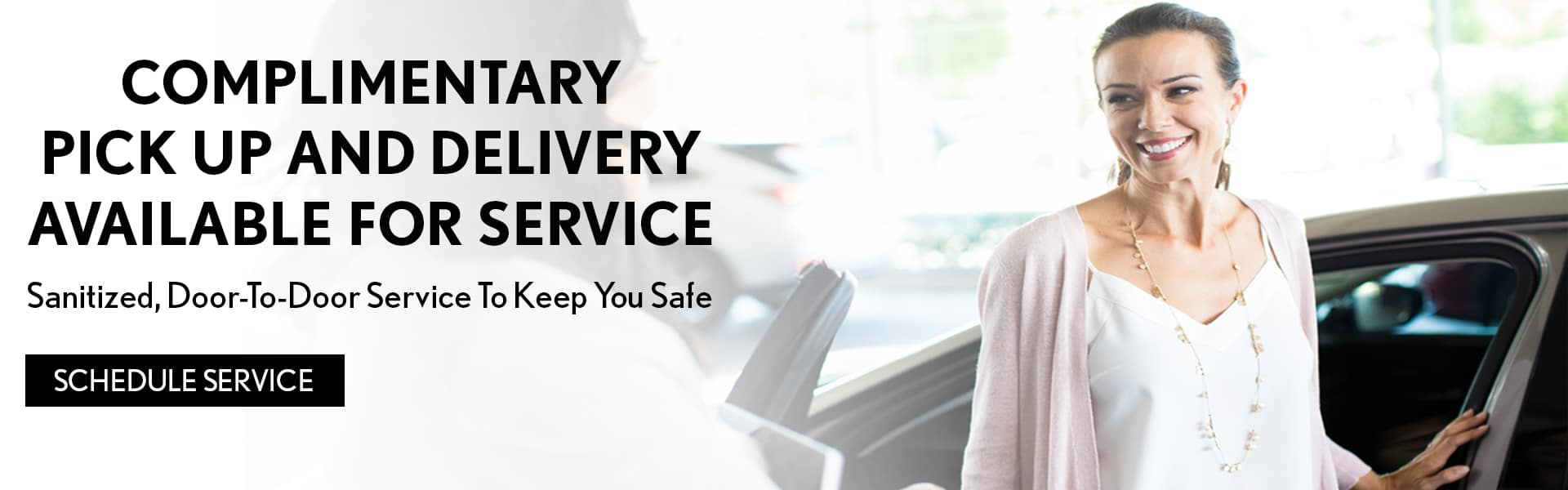 Complimentary Delivery Banner
