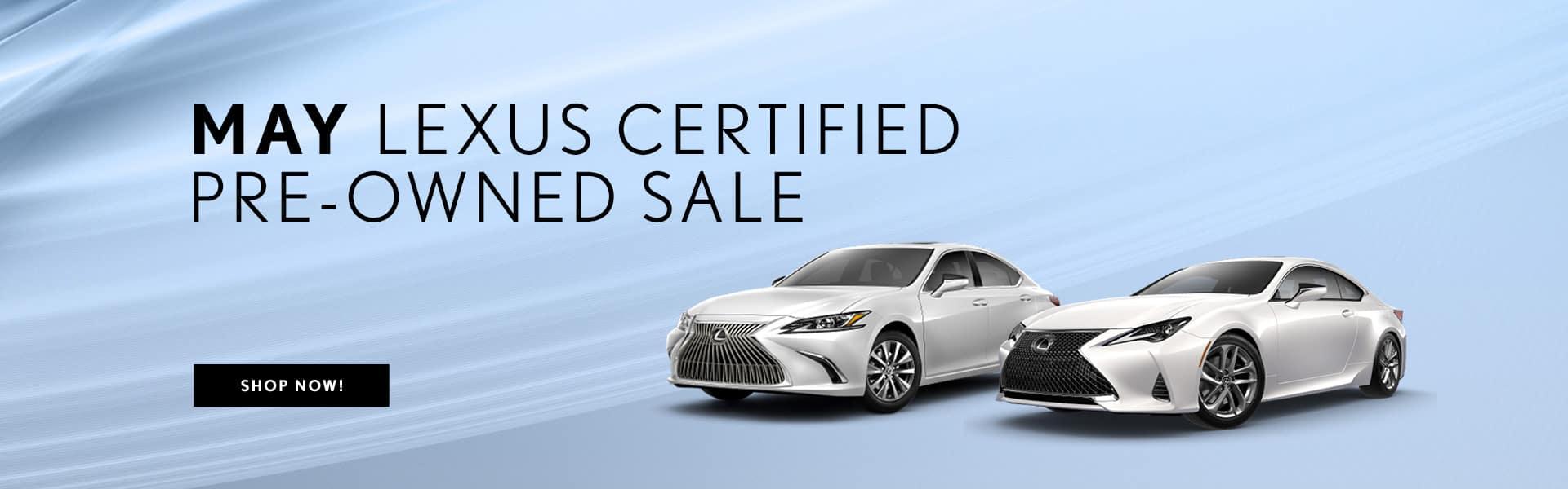 May Lexus CPO Sale