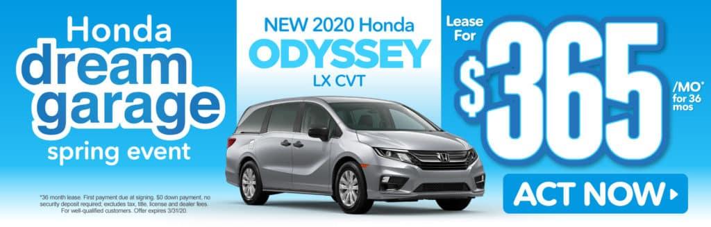 New 2020 Honda Odyssey LX Automatic