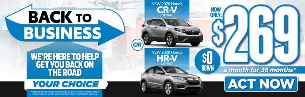 New 2020 Honda CR-V LX FWD