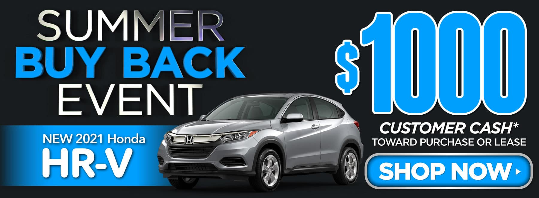 New 2021 Honda HR-V - $1000 Customer Cash - Shop Now
