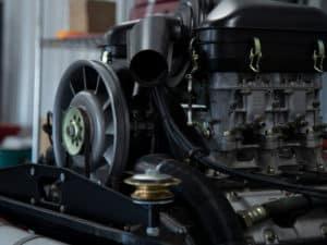 Restored Engine 3/4 view