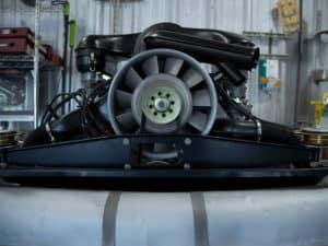 Resto Clean Engine Rear View
