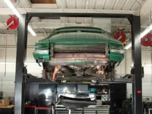 Porsche Resto Oil Flush