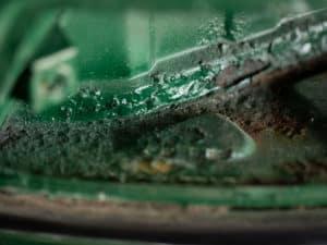 Porsche Restoration Rust Damage