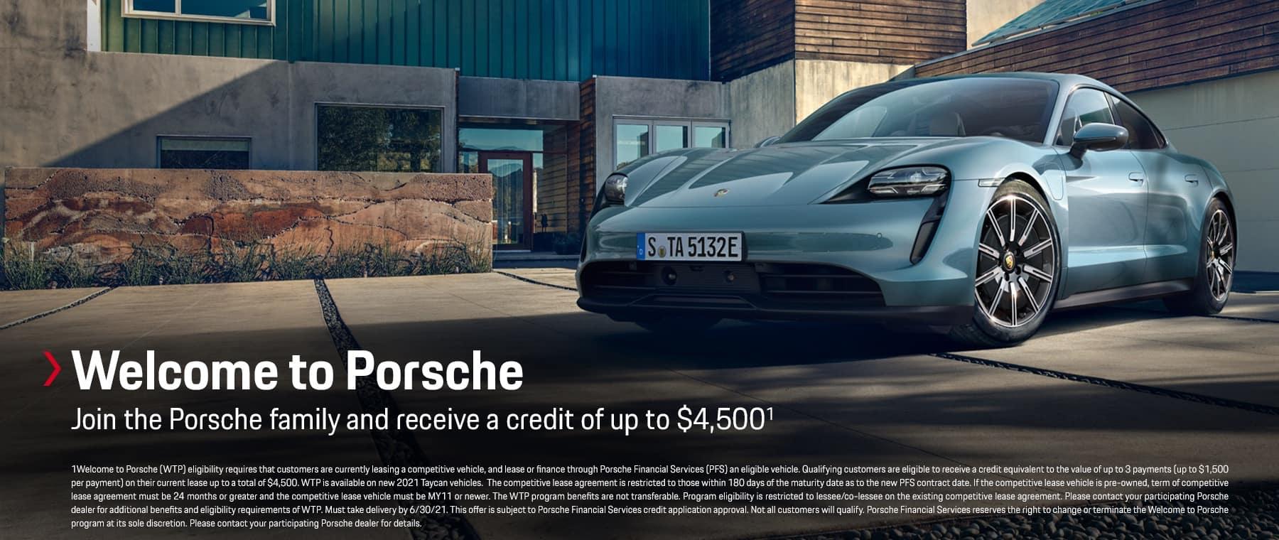 Welcome to Porsche