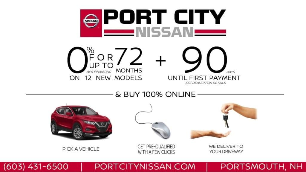 Port City Nissan 90-Day Delayed Payment