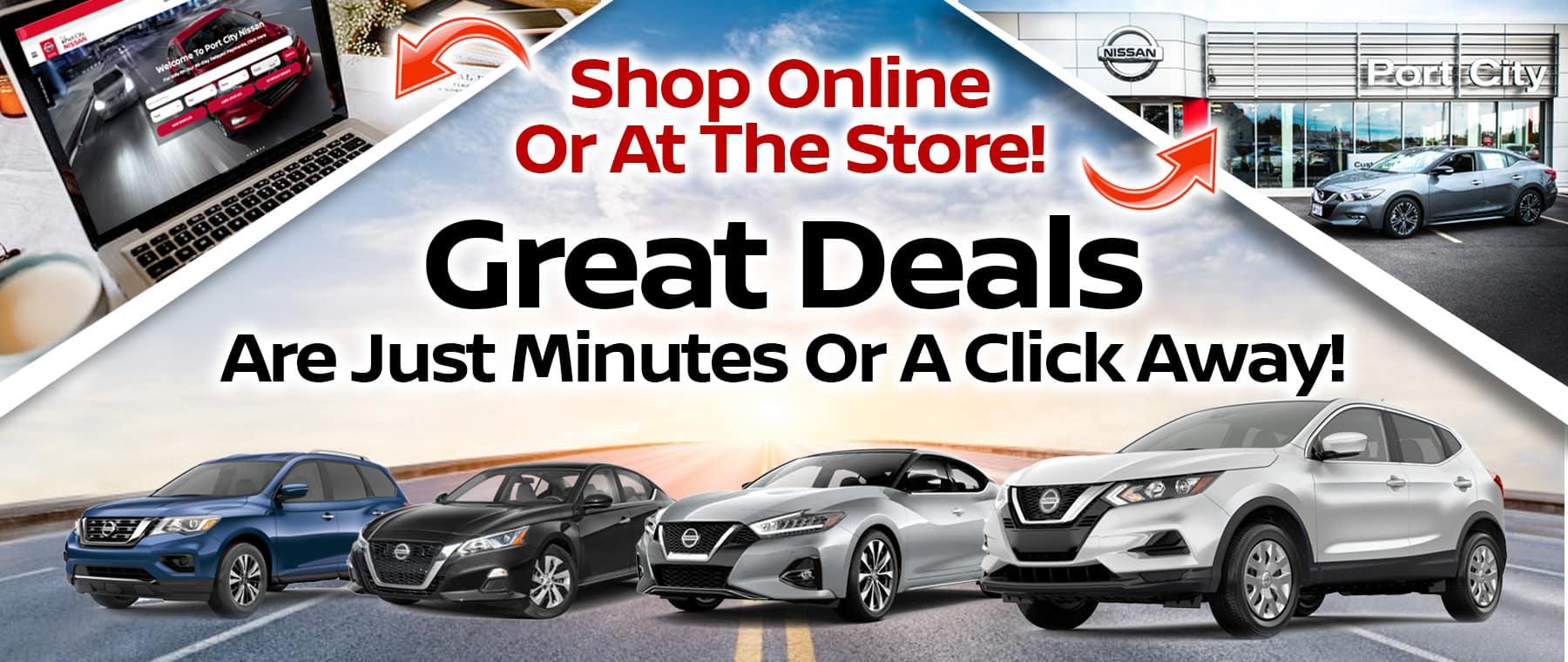 Port City Nissan Great Deals