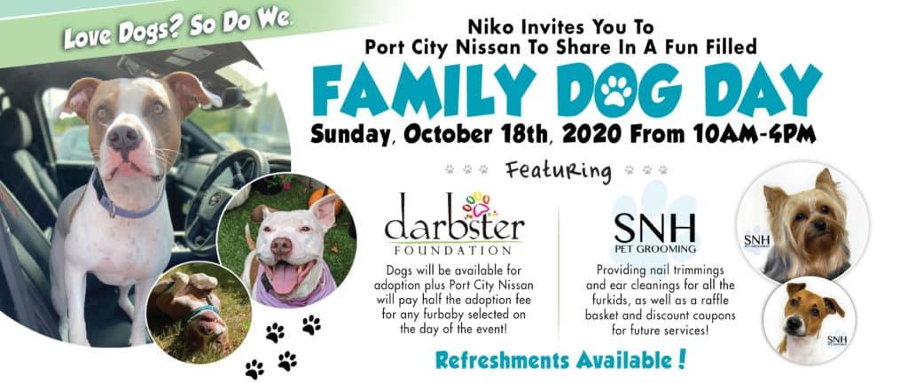 Port City Nissan Family Dog Day