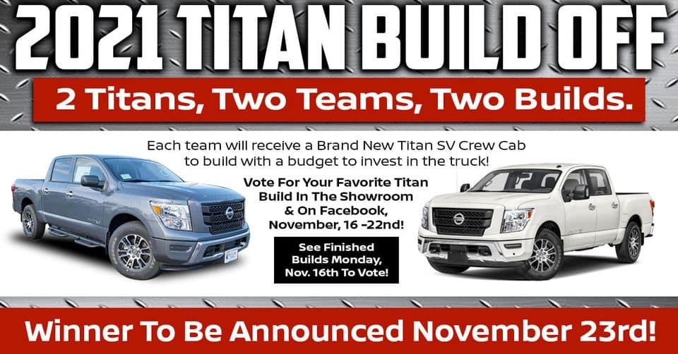 2021 Nissan Titan Build Off Port City Nissan