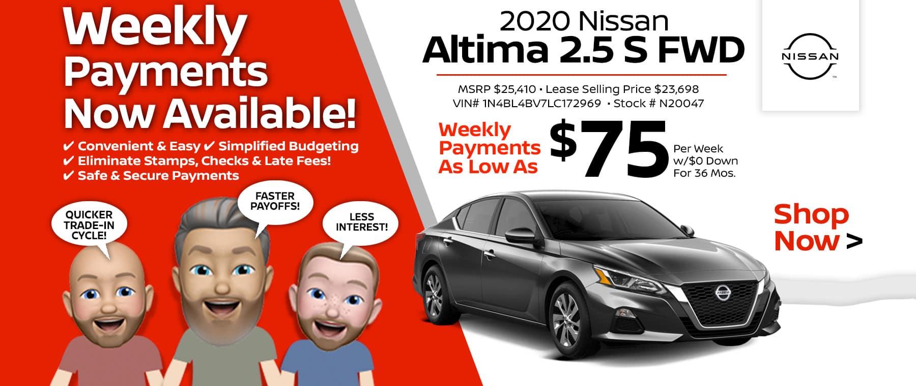 2020 Nissan Altima Port City Nissan