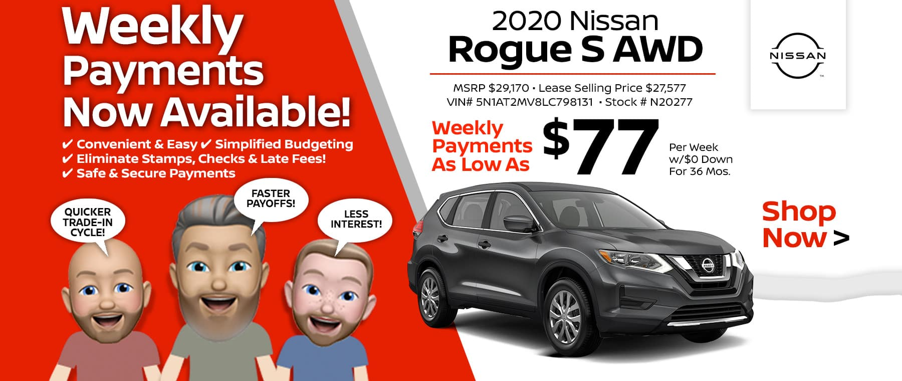 2020 Nissan Rogue Port City Nissan