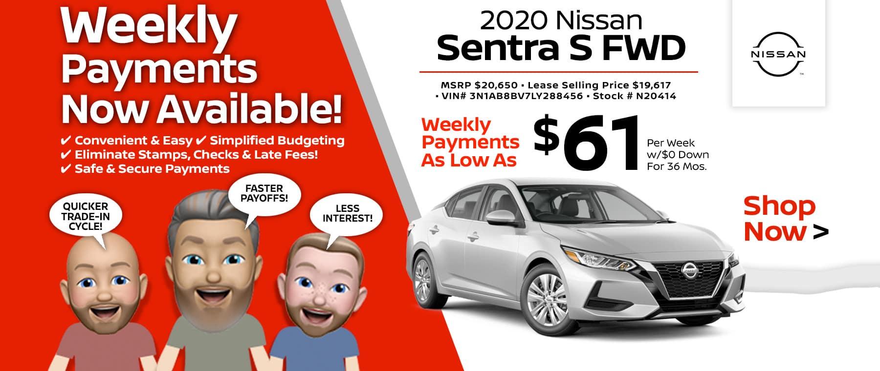 2020 Nissan Sentra Port City Nissan