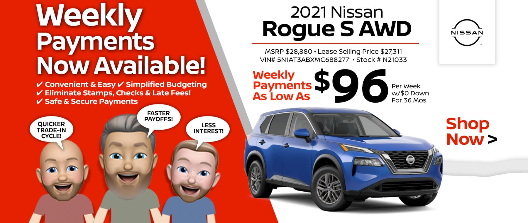 2021 Nissan Rogue Port City Nissan