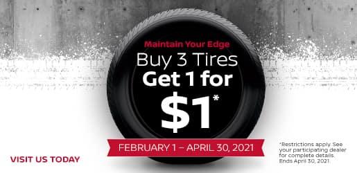 Buy 3 Get 1 for $1 Port City Nissan