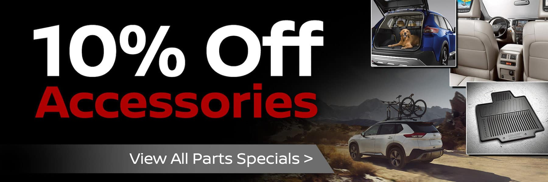 10% Off Accessories At Port City Nissan