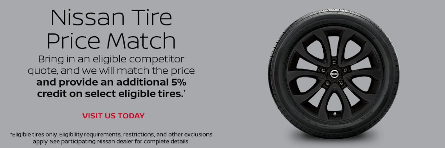 Port City Nissan Tire Price Match