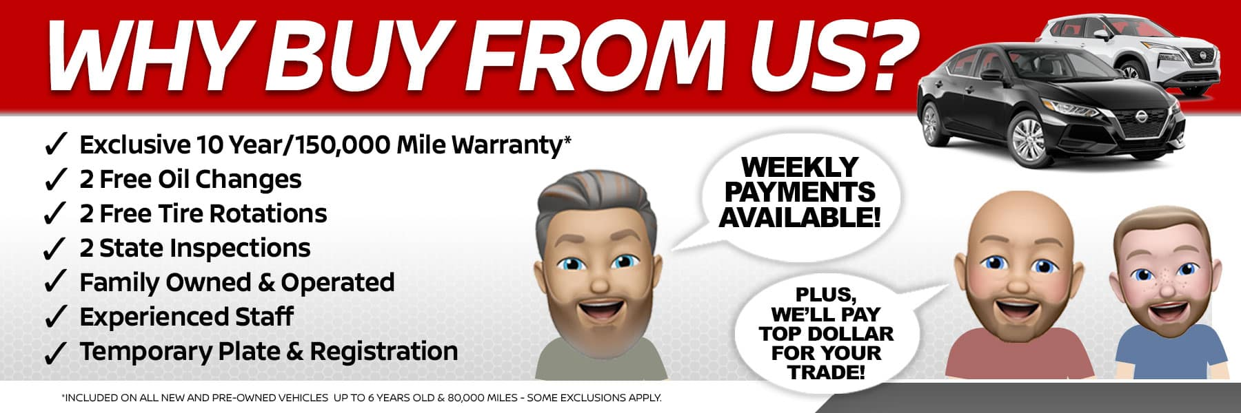 Why Buy From Port City Nissan