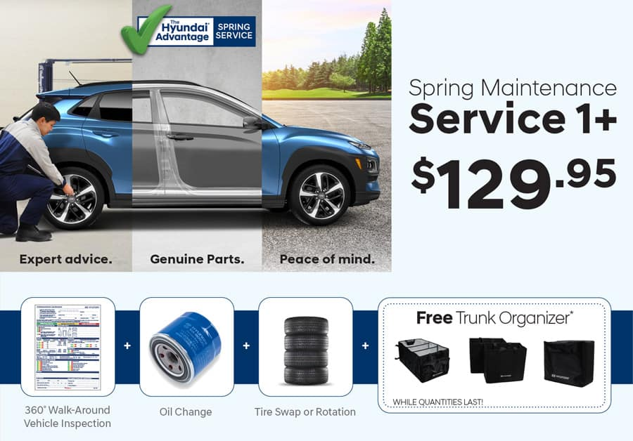 Spring 2020 Service Maintenance Special at Precision Hyundai