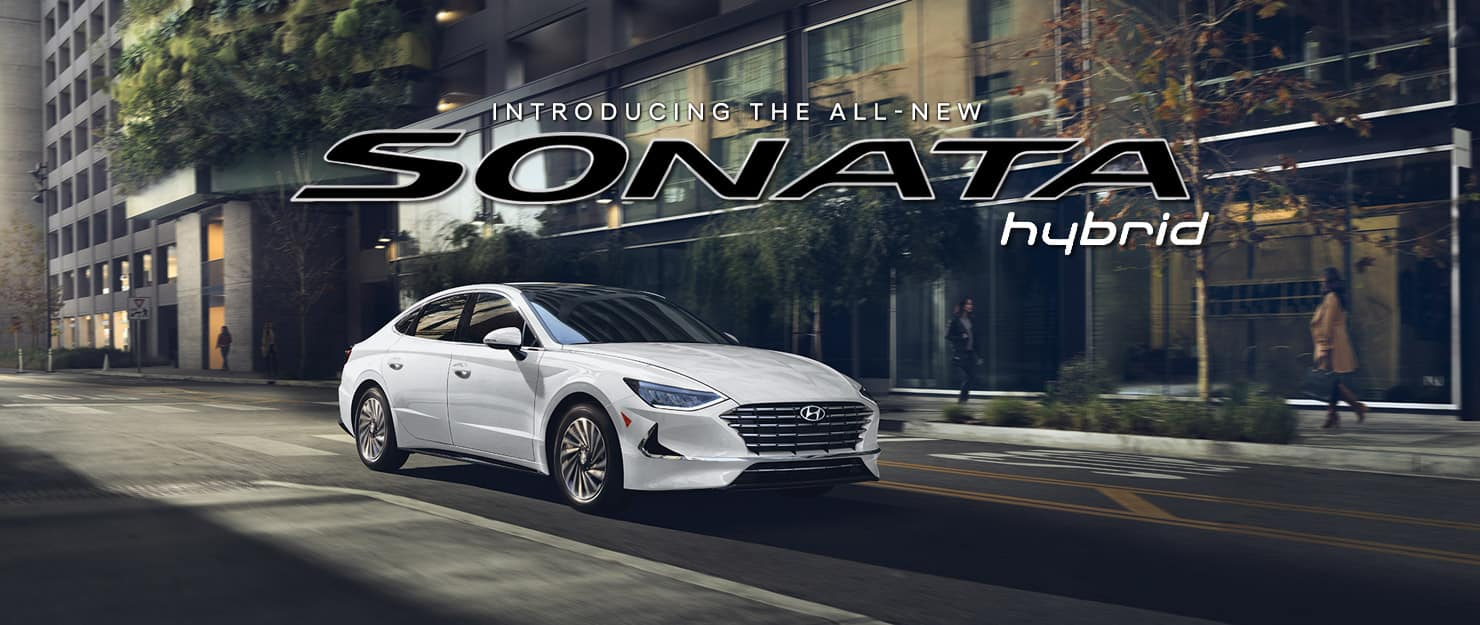 Introducing the All-New 2020 Sonata Hybrid