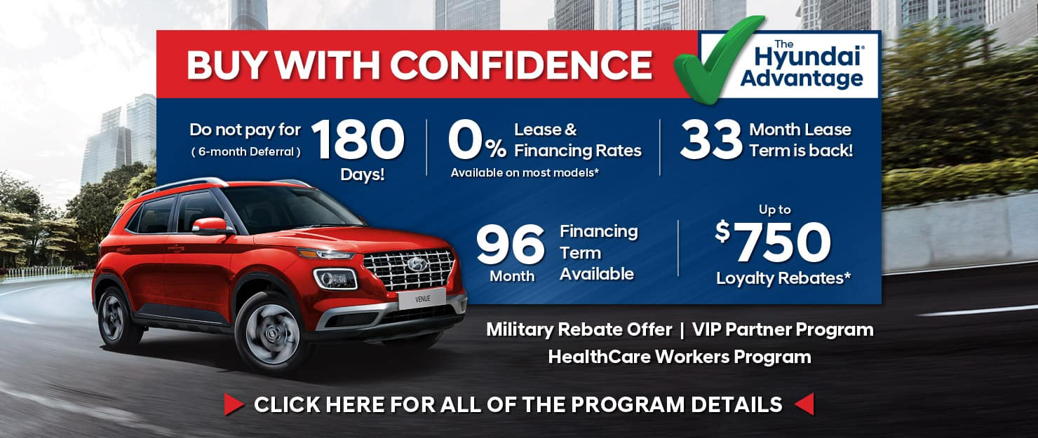 Buy With Confidence at Precision Hyundai