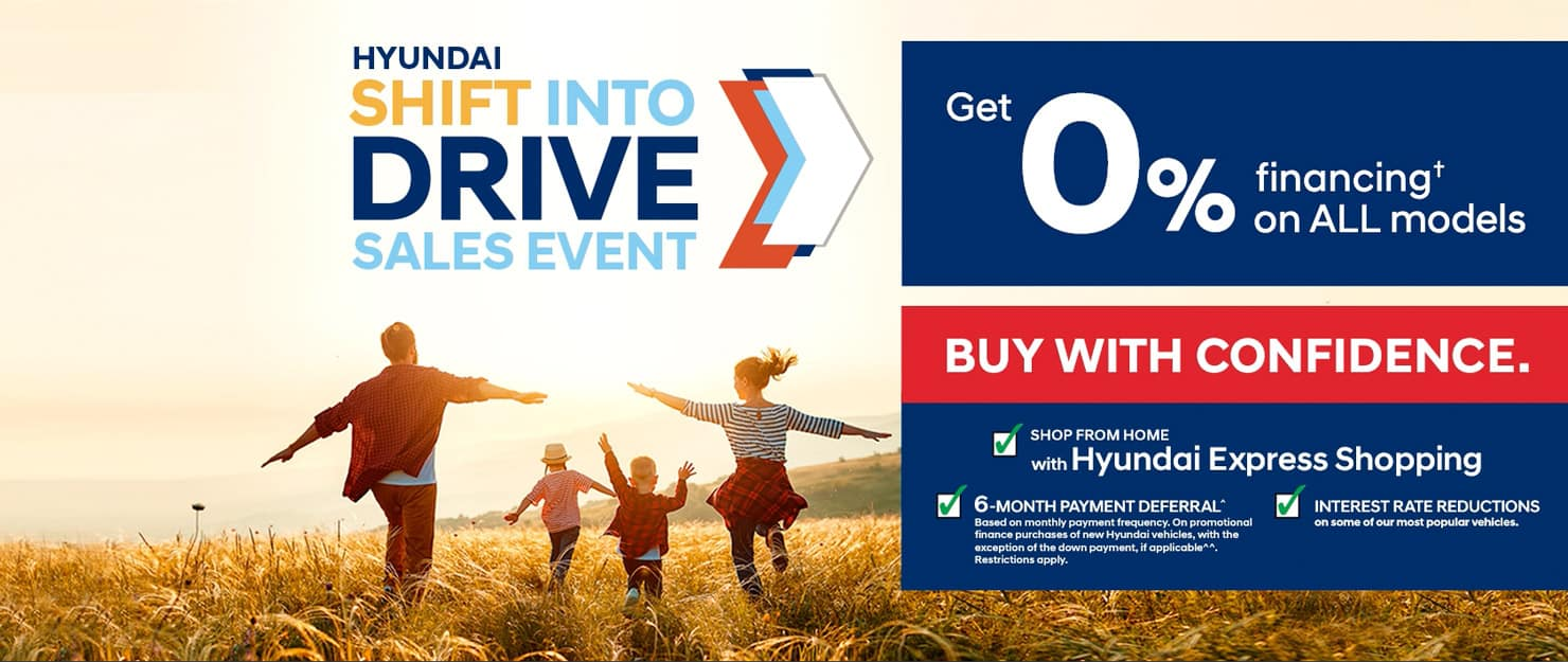 Shift Into Drive Sales Event