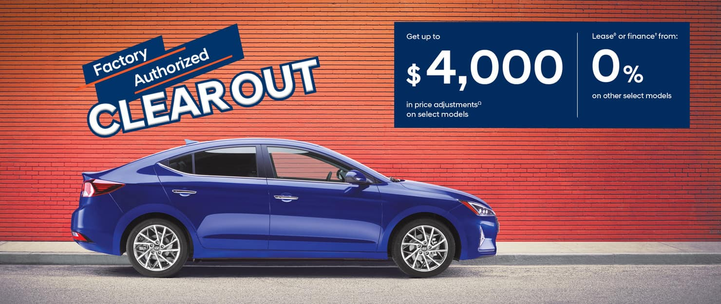 Factory Authorized Clearout - Precision Hyundai Calgary