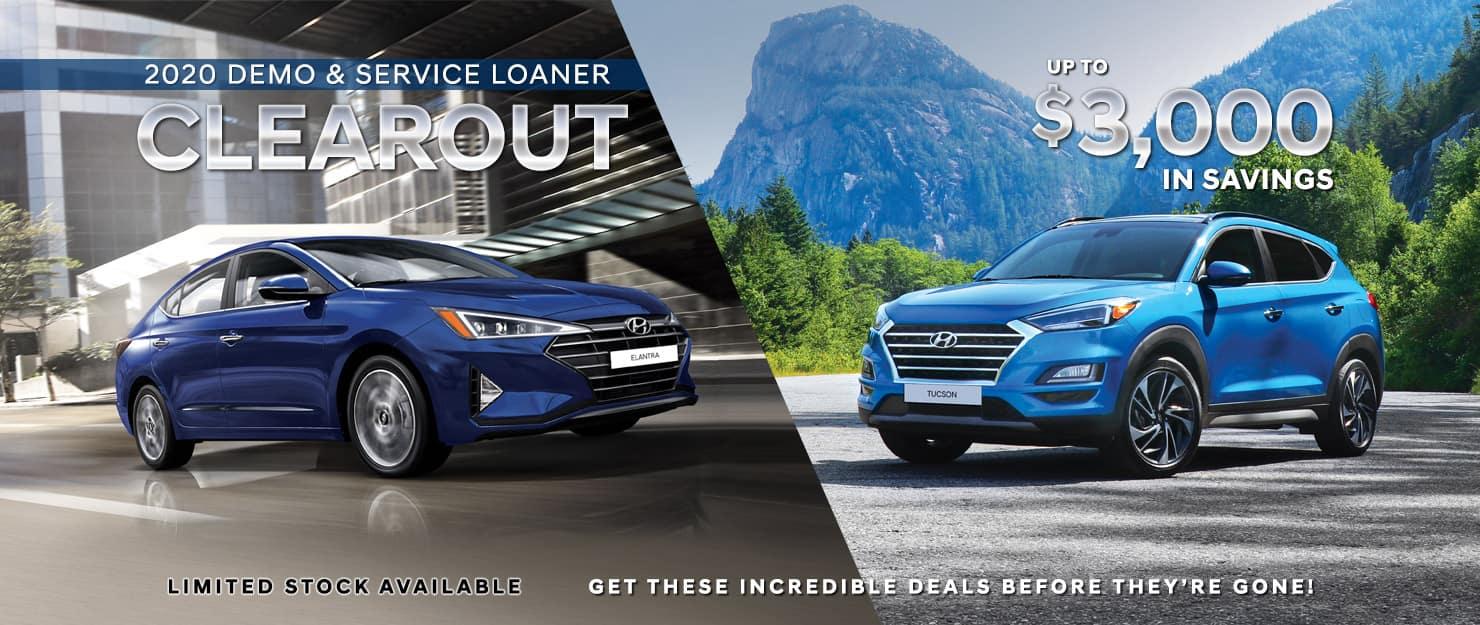 Precision Hyundai Demo & Service Loaner Clearout