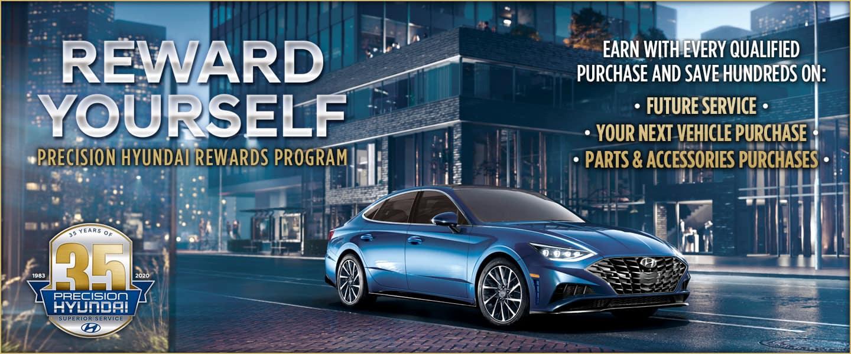 Precision Hyundai Rewards Program