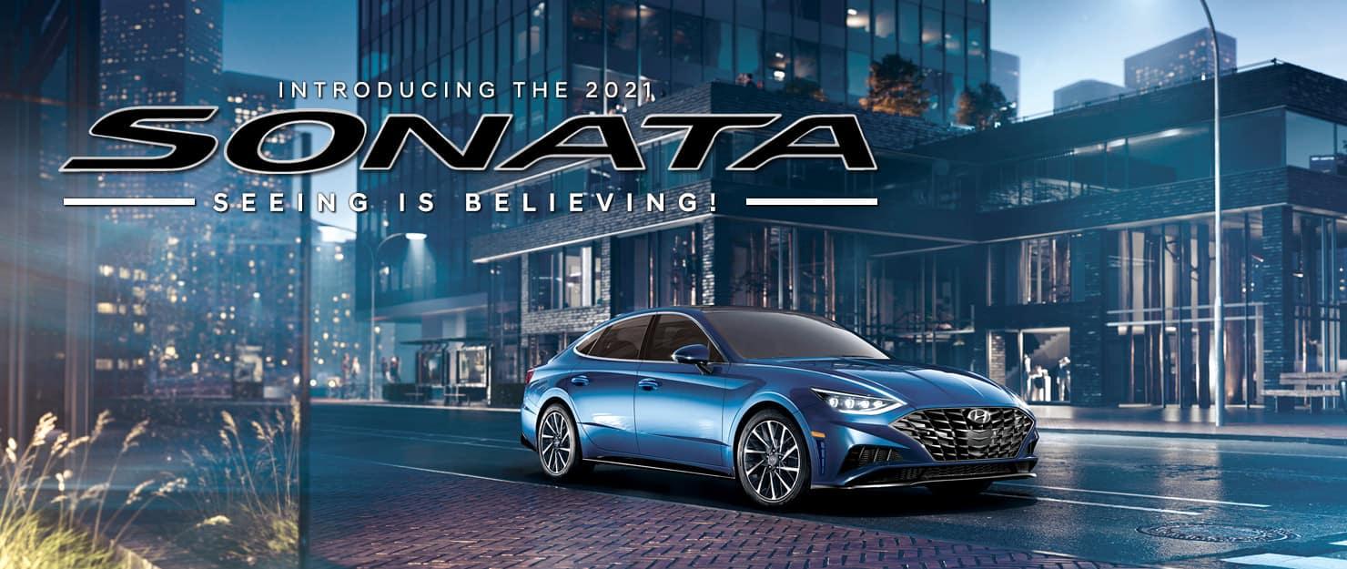 Hyundai 2021 Sonata - Seeing is believing